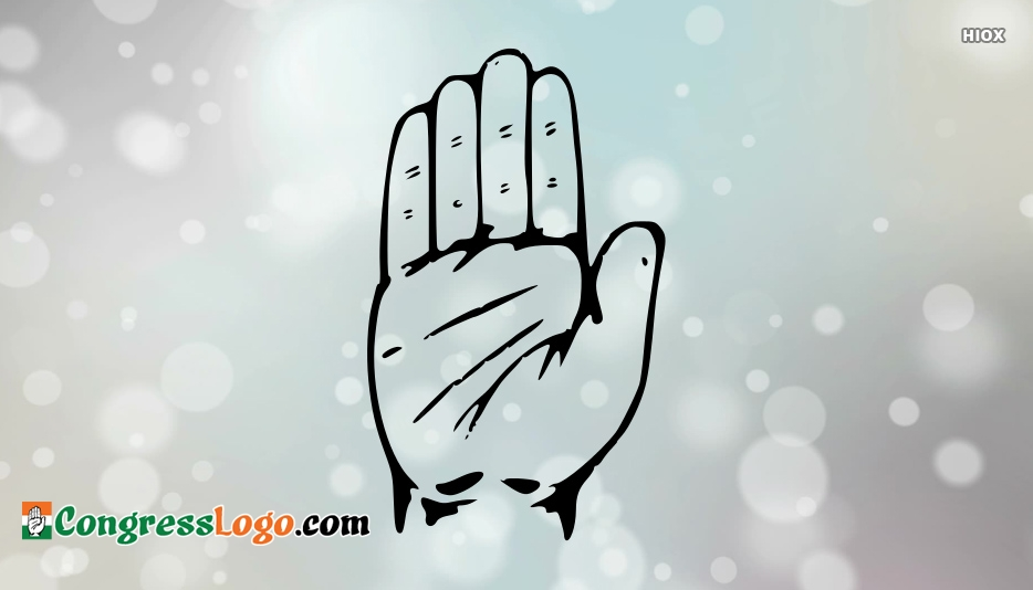Congress Logo Black And White