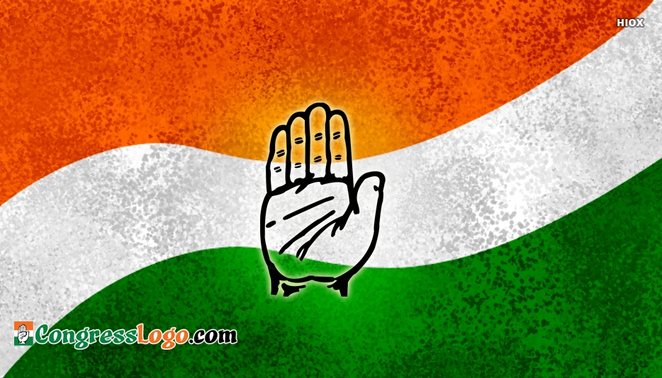 Congress Party Banner Background Hd