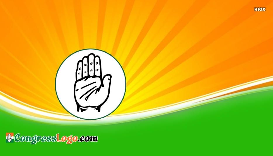 Indian National Congress Logo Vector