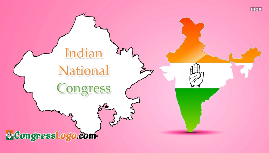 INC Rajasthan Logo Pictures, Images