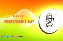 Congress Logo Independence Day