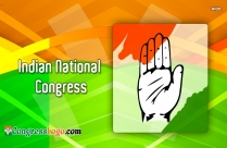 Congress Logo Flag