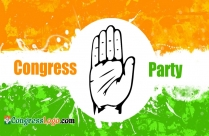 Congress Party Logo Hand