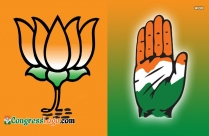 Congress Vs Bjp Logo