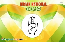 National Congress Party Sign